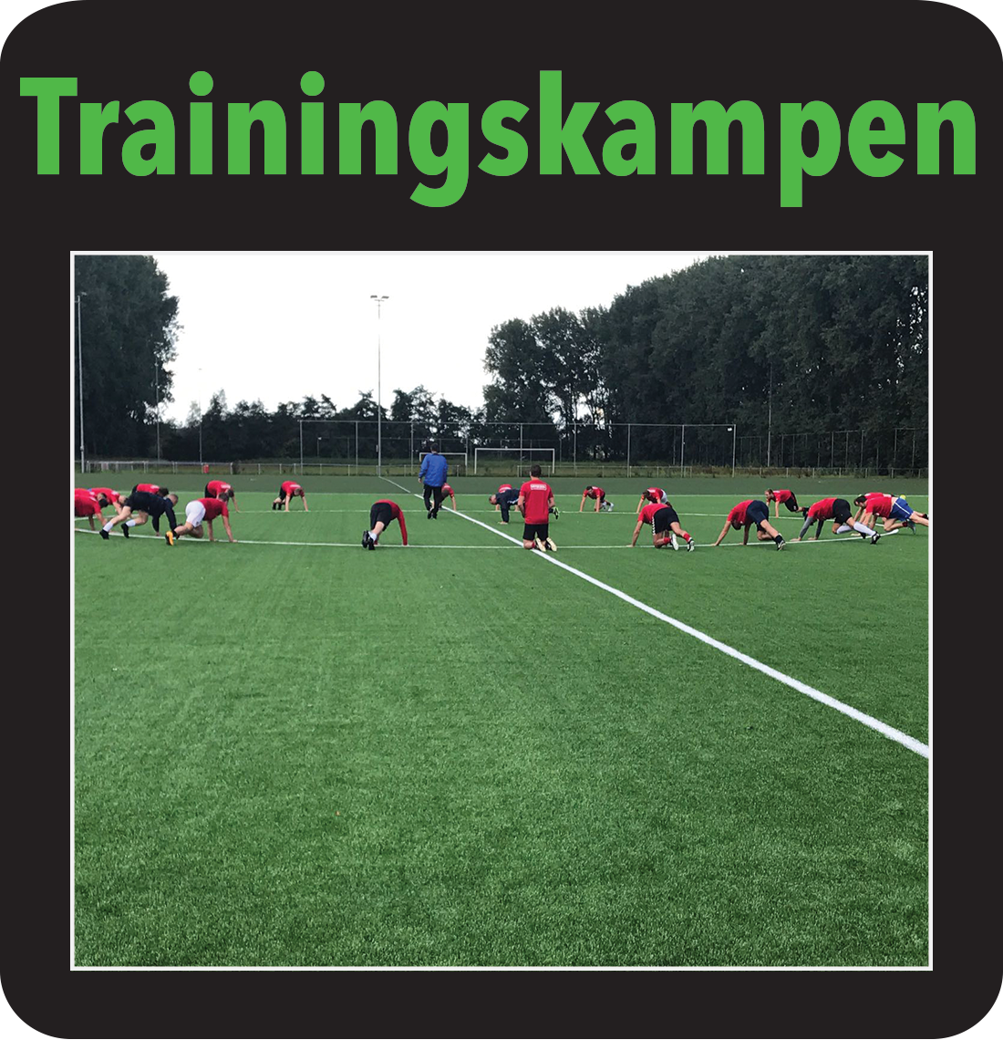 Trainingskamp in Nederland
